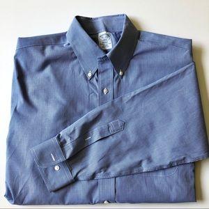 Brooks Brother Regent dress shirt blue 16 1/2. 4/5